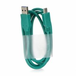 Cablu Date & Incarcare Tip C - USB 3.1 (Verde)