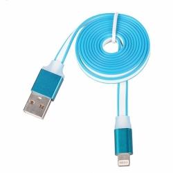 Cablu Slim Date & Incarcare APPLE Lightning (Albastru)