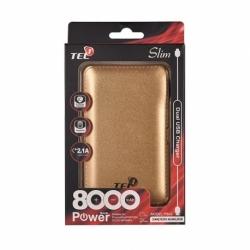 Baterie Externa TELL 8000 mAh (Auriu)