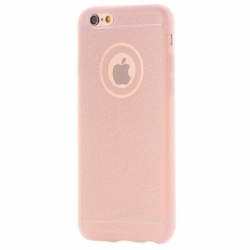 Husa SAMSUNG Galaxy S5 - Glitter (Roz)