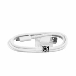 Cablu Date & Incarcare MicroUSB Rotund (Alb)