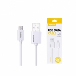 Cablu Date & Incarcare MicroUSB Fast Charge (Alb) REMAX