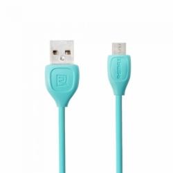 Cablu Date & Incarcare MicroUSB (Albastru) REMAX RC-050M