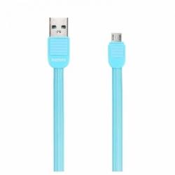 Cablu Date & Incarcare MicroUSB (Albastru) REMAX PUF RC-045M