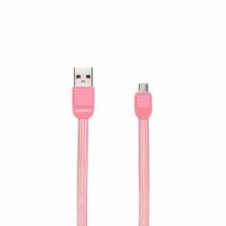 Cablu Date & Incarcare MicroUSB (Roz) REMAX PUF RC-045M