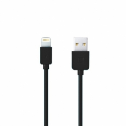 Cablu Date & Incarcare APPLE Lightning Fast Charge (Negru) REMAX RC-06I
