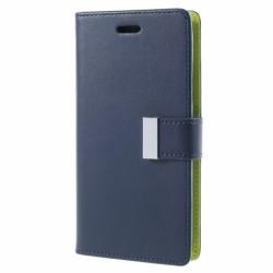 Husa APPLE iPhone 5C - Rich Diary (Bleumarin)