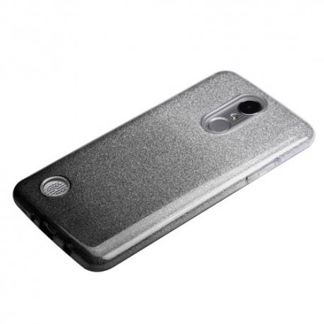 Husa SAMSUNG Galaxy J5 - Glitter (Negru&Argintiu)