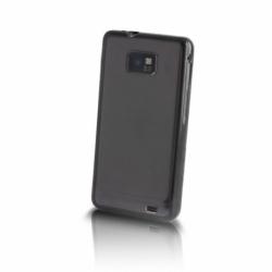 Husa SAMSUNG Galaxy S4 Mini - Hybrid (Transparent&Negru)