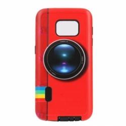 Husa SAMSUNG Galaxy S5 - Fashion 2&1 (Red Camera)
