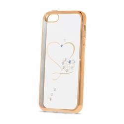 Husa SAMSUNG Galaxy S5 -  Beeyo Heart (Auriu)