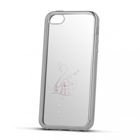 Husa APPLE iPhone 6/6S -  Beeyo Swan (Argintiu)