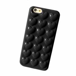 Husa APPLE iPhone 6/6S - Pistol (Inima Negru)