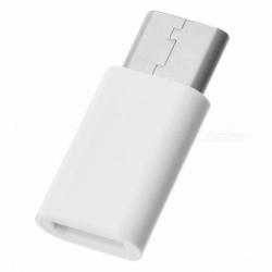 Adaptor MicroUSB - Tip C (Alb)