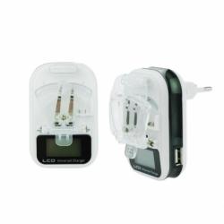 Incarcator Universal pt. Acumulator Telefon (Afisaj Electronic)