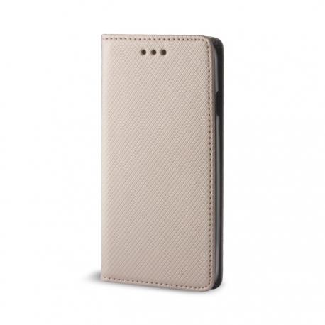 Husa SAMSUNG Galaxy S4 - Smart Magnet (Auriu)