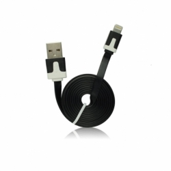 Cablu Date & Incarcare Plat APPLE Lightning (Negru)