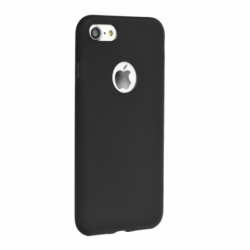 Husa APPLE iPhone 6/6S Plus - Forcell Soft (Negru)