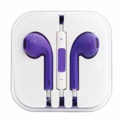 Casti Telefon APPLE iPhone 3/4/5/6 (Violet) Box
