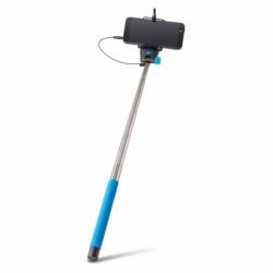Selfie Stick Universal cu Cablu (Albastru) MP-400 Forever