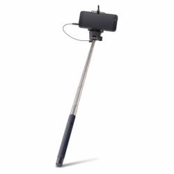 Selfie Stick Universal cu Cablu (Negru) MP-400 Forever