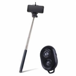 Selfie Stick cu Telecomanda Bluetooth (Negru) MP-200 Forever