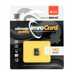 Card MicroSD 8GB (Clasa 10) IMRO