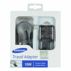 Incarcator Original Fast Charge 2A SAMSUNG EP-TA20EWE + Cablu MicroUSB (Negru)