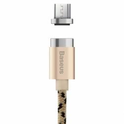Cablu Date & Incarcare Magnetic MicroUSB Quick Charge - 1 Metru (Auriu) Baseus