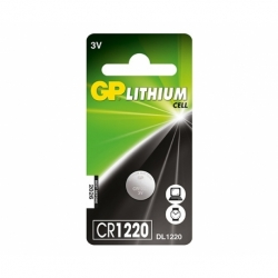 Baterie GP Lithium 3V CR1220-7C5 (? 12.5 x 2mm)