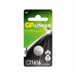 Baterie GP Lithium 3V CR1616-7C5 (? 16 x 1.6mm)