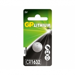 Baterie GP Lithium 3V CR1632-7C5 (? 16 x 3.2mm)