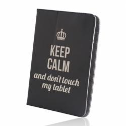 """Husa Universala Tableta 9-10"""" (Keep Calm)"""