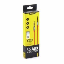 Cablu Jack - Jack 3.5mm - 1 Metru (Rosu) L100 REMAX