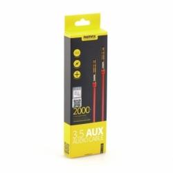 Cablu Jack - Jack 3.5mm - 2 Metri (Rosu) L200 REMAX