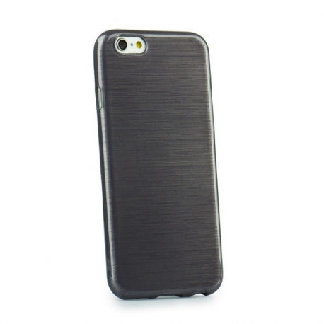 Husa APPLE iPhone 5/5S/SE - Jelly Brush (Negru)