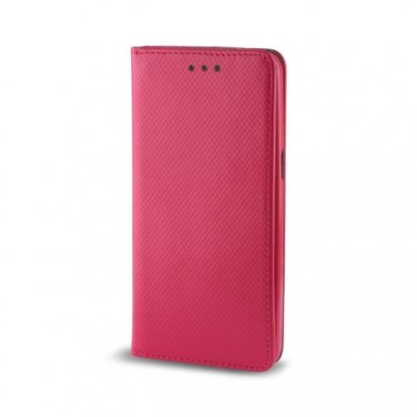Husa HUAWEI P8 Lite - Smart Magnet (Roz)