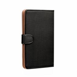 "Husa Universala Tableta 7 - 8"" - Fancy Book (Negru)"