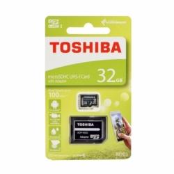 Card MicroSD 32GB + Adaptor (Clasa 10) M203 Toshiba