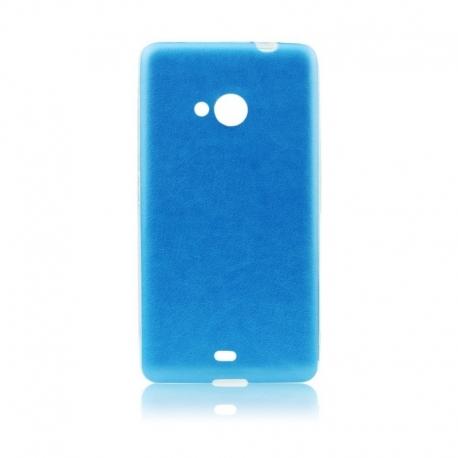Husa APPLE iPhone 5/5S/SE - Jelly Piele (Albastru)