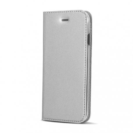 Husa APPLE iPhone 5/5S/SE - Smart Premium (Argintiu)