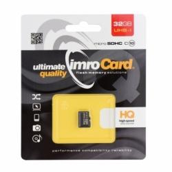 Card MicroSD 32GB (Clasa 10) IMRO