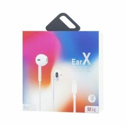 Casti Audio iPhone 7/8/X cu Mufa Lightning (Bluetooth) EarX