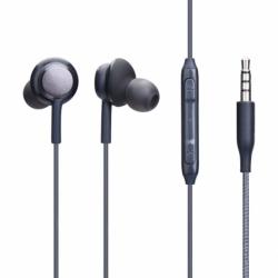 Casti Audio Universale cu Mufa Jack 3.5mm (Negru)
