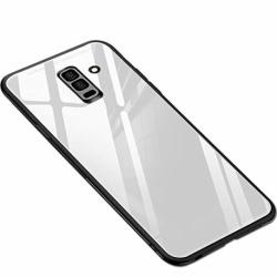 Husa SAMSUNG Galaxy A6 Plus 2018  - Glass (Alb)