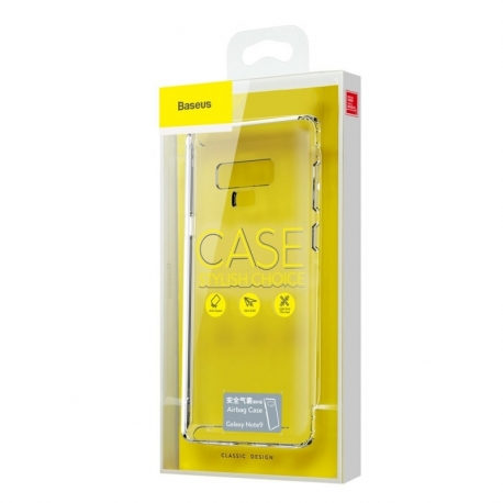 Husa Samsung Galaxy Note 9 - Baseus Airbag (Transparent)