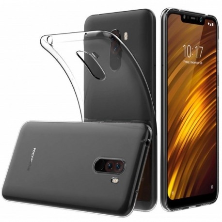Husa Xiaomi Pocophone F1 - Ultra Slim 0.5mm (Transparent)