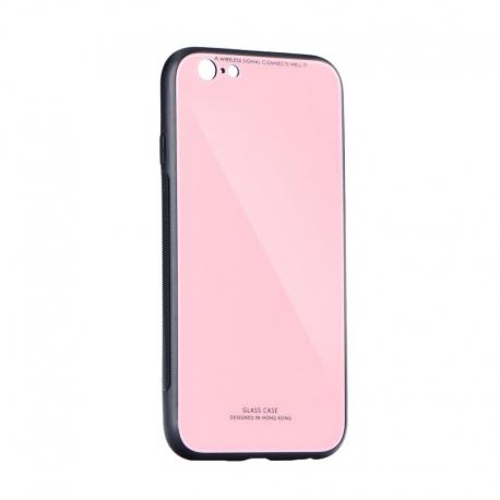 Husa APPLE iPhone 6/6S - Glass (Roz)