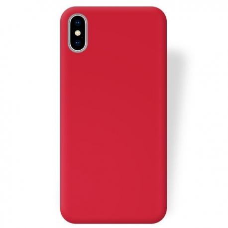 Husa APPLE iPhone X - Ultra Slim Mat (Rosu)