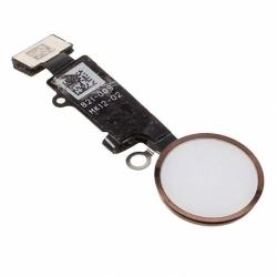 Banda Flex cu Buton Meniu Alb pentru APPLE iPhone 7 / 7 Plus